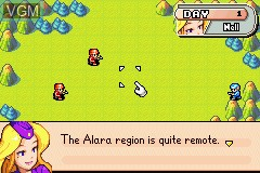 In-game screen of the game Advance Wars on Nintendo GameBoy Advance