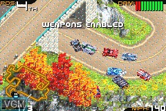 In-game screen of the game Racing Gears Advance on Nintendo GameBoy Advance