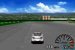 In-game screen of the game GT Advance - Championship Racing on Nintendo GameBoy Advance
