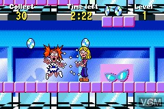 In-game screen of the game 2 Games in 1 - Disney Princess + Lizzie McGuire on Nintendo GameBoy Advance