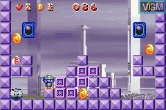 In-game screen of the game Tang Tang on Nintendo GameBoy Advance