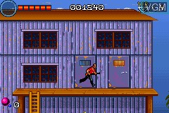 In-game screen of the game V.I.P. on Nintendo GameBoy Advance
