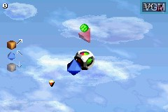 In-game screen of the game ZooCube on Nintendo GameBoy Advance