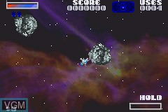 In-game screen of the game Ultimate Arcade Games on Nintendo GameBoy Advance
