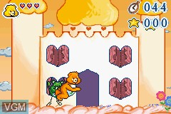 In-game screen of the game Care Bears - The Care Quests on Nintendo GameBoy Advance