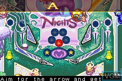 In-game screen of the game 2 Games in 1 - Sonic Advance + Sonic Pinball Party on Nintendo GameBoy Advance