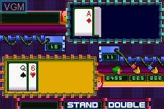 In-game screen of the game Games Explosion on Nintendo GameBoy Advance