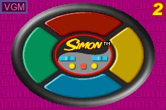In-game screen of the game 3 Game Pack! - Mouse Trap + Simon + Operation on Nintendo GameBoy Advance