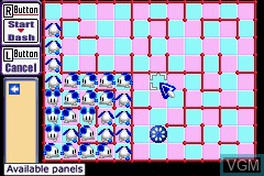 In-game screen of the game 2 Games in 1 - Sonic Battle + ChuChu Rocket! on Nintendo GameBoy Advance