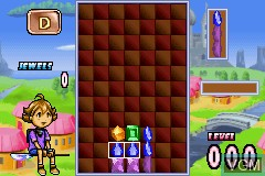 In-game screen of the game 2 Games in 1 - Sonic Pinball Party + Columns Crown on Nintendo GameBoy Advance