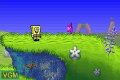 In-game screen of the game 4 Games on One Game Pak on Nintendo GameBoy Advance
