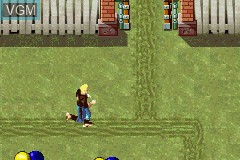 In-game screen of the game Ace Lightning on Nintendo GameBoy Advance