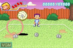 In-game screen of the game All Grown Up! - Express Yourself on Nintendo GameBoy Advance