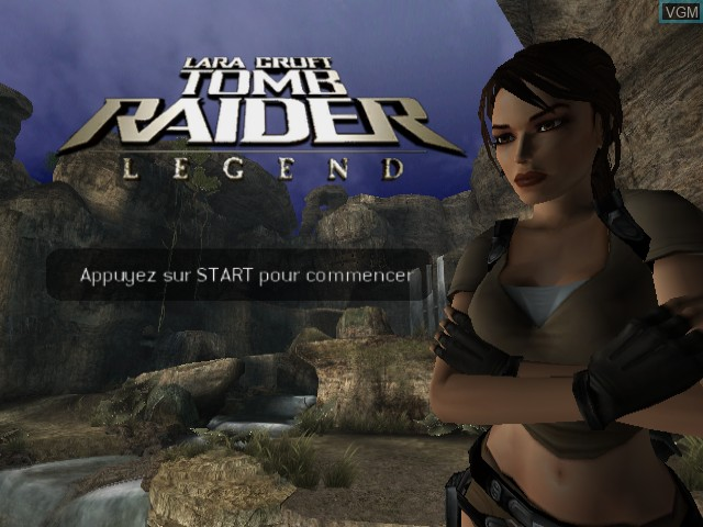 tomb raider legend gamecube