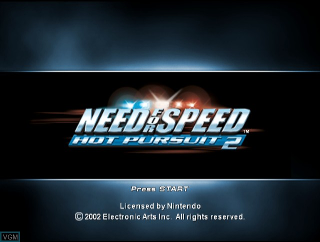 Need For Speed Hot Pursuit 2 For Nintendo Gamecube The Video