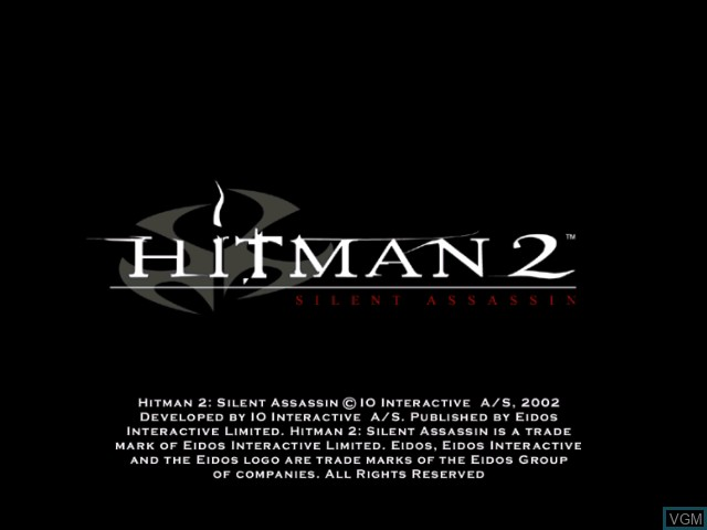 Hitman 2 Silent Assassin For Nintendo Gamecube The Video Games