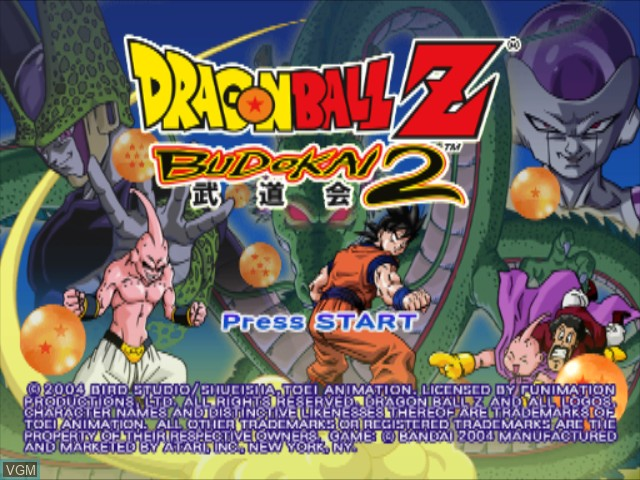 Dragon Ball Z - Budokai 2 for Nintendo GameCube - The Video