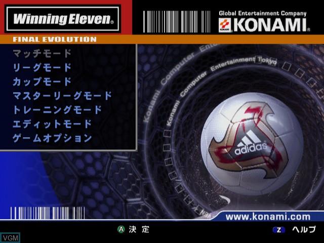 World Soccer Winning Eleven 6 - Final Evolution for Nintendo