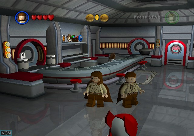 Lego Star Wars The Video Game For Nintendo Gamecube The Video