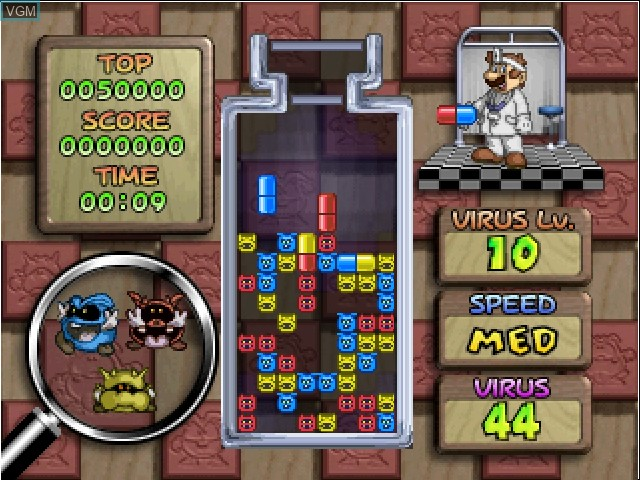 In-game screen of the game Nintendo Puzzle Collection on Nintendo GameCube