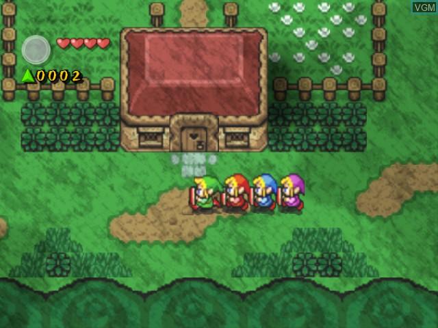 Legend of Zelda, The - Four Swords Adventures