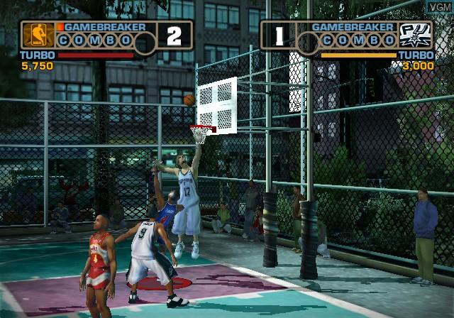 NBA Street V3 - Mario de Dunk