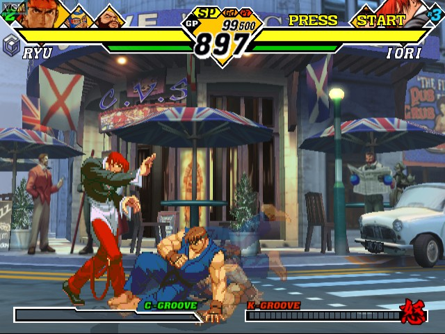 Capcom vs. SNK 2 EO - Millionaire Fighting 2001