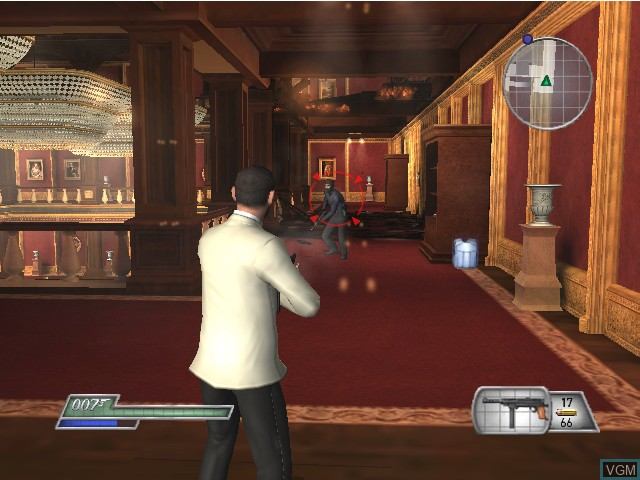 In-game screen of the game 007 - From Russia with Love on Nintendo GameCube