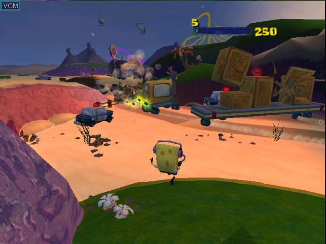 2 Games in 1 - Nickelodeon SpongeBob Schwammkopf - Der Film + Nickelodeon Tak 2 - Der Stab der Traeume