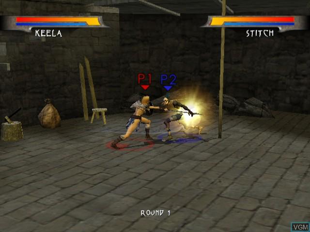 Warrior Blade - Rastan vs. Barbarian