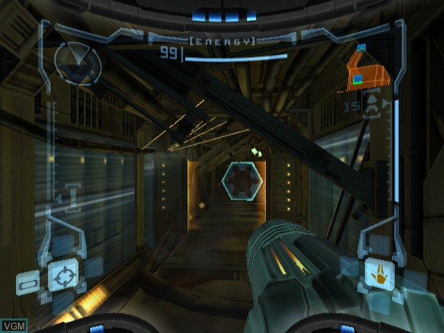 In-game screen of the game Legend of Zelda, The - The Wind Waker / Metroid Prime on Nintendo GameCube