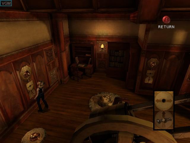 In-game screen of the game Eternal Darkness - Sanity's Requiem on Nintendo GameCube