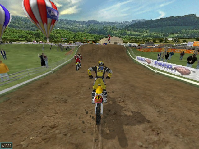 In-game screen of the game Big Air Freestyle on Nintendo GameCube