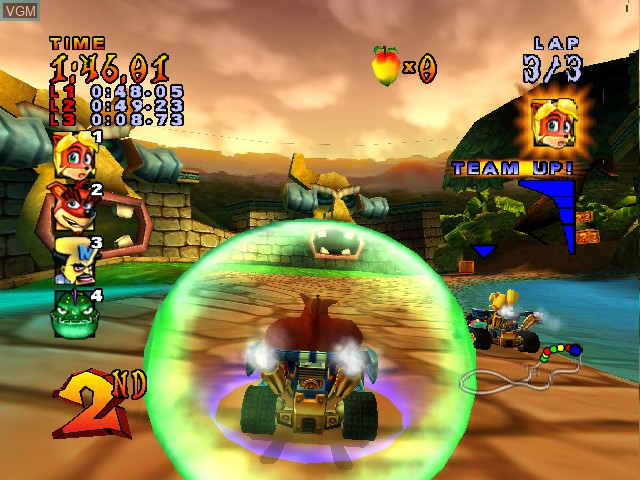 crash nitro kart gamecube