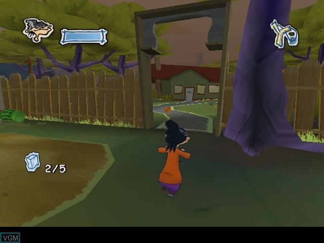 In-game screen of the game Ed, Edd n Eddy - The Mis-Edventures on Nintendo GameCube