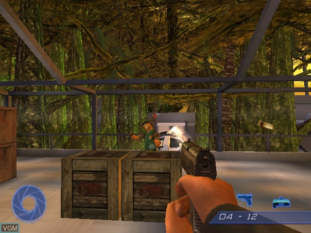 In-game screen of the game 007 - Agent Under Fire on Nintendo GameCube
