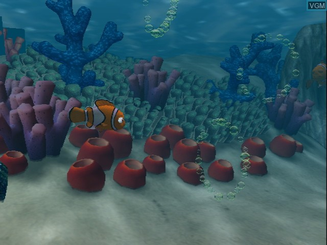 In-game screen of the game 2 Games in 1 - Disney-Pixar Die Unglaublichen + Disney-Pixar Findet Nemo on Nintendo GameCube