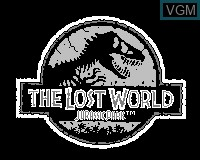 Title screen of the game Jurassic Park - The Lost World on Tiger Game.com