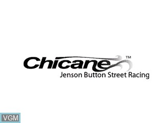 Title screen of the game Chicane on Tiger Gizmondo