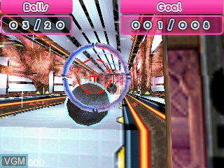In-game screen of the game Ball Busters on Tiger Gizmondo