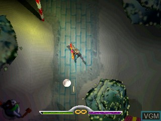 In-game screen of the game Hit & Myth on Tiger Gizmondo