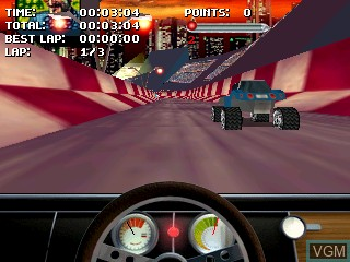 In-game screen of the game Fathammer Classics Pack on Tiger Gizmondo