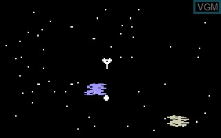 In-game screen of the game Astrosmash - Meteor on Mattel Intellivision
