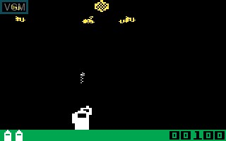 In-game screen of the game Buzz Bombers on Mattel Intellivision