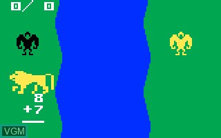 In-game screen of the game Electric Company - Math Fun on Mattel Intellivision