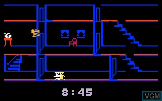 In-game screen of the game Kool-Aid Man on Mattel Intellivision