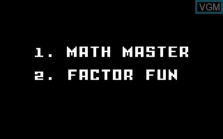 Learning Fun I - Math Master Factor Fun