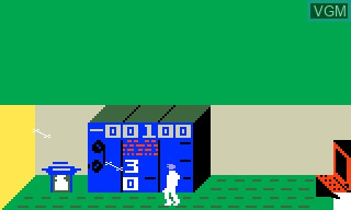 In-game screen of the game Mr. Basic Meets Bits 'N Bytes on Mattel Intellivision