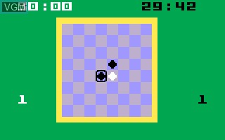 In-game screen of the game Reversi on Mattel Intellivision