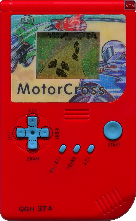 In-game screen of the game MotorCross on Electronic games